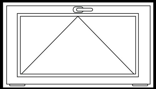 PVC Kiep raam