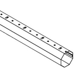 Rolluik as 60 - 200 cm
