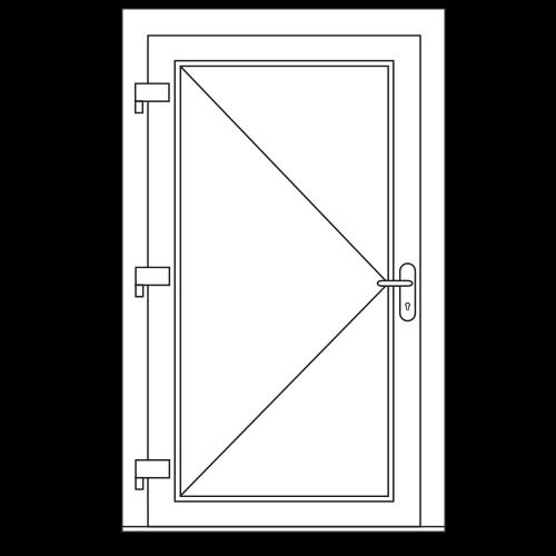 Enkele deur